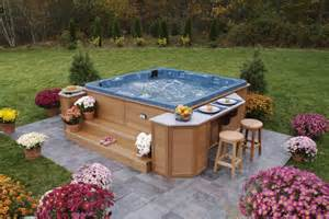 Backyard Spas Garden Portable Tub Designs Ideas Portable Tub