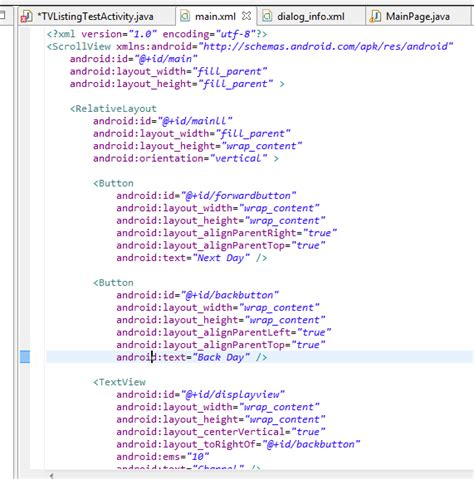 layout xml java java my android application cannot find buttons declared