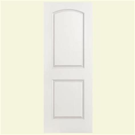masonite solidoor smooth 2 panel top solid