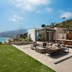 modernist villa in pacific palisades with a resort like los angeles hillside villa retreat with daring modern