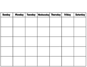 Html Calendar Template by Blank Calendar Printable Calendar Templates