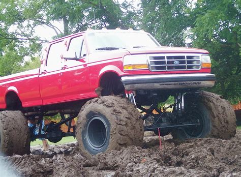 truck in mud ford truck mudding wallpaper image 679