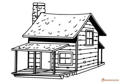 wood house coloring pages house coloring pages downloadable and printable images