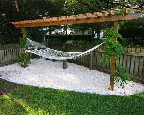 impressive 36 the best backyard hammock ideas for