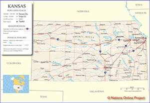 State Of Kansas Map by Kansas State Map Related Keywords Amp Suggestions Kansas