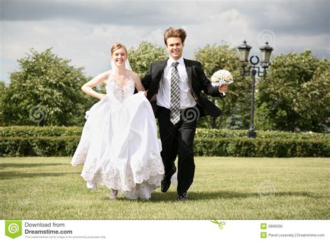 Wedding Time Images by Running Wedding Royalty Free Stock Photo Image