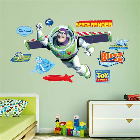 buzz lightyear bedroom buzz lightyear wall decal shop fathead 174 for toy story decor