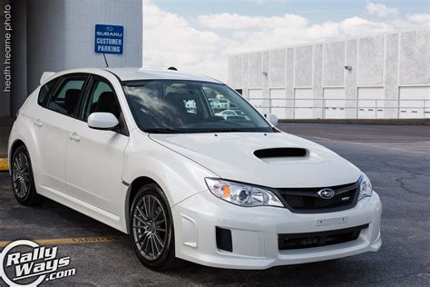 Pearl White Subaru Wrx Hatchback Owner S Experience