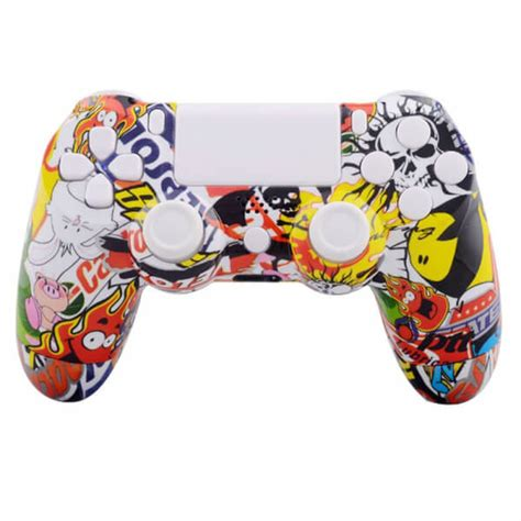 Hoodie Jumper Broadcast Yourself playstation dualshock 4 custom controller stickerbomb