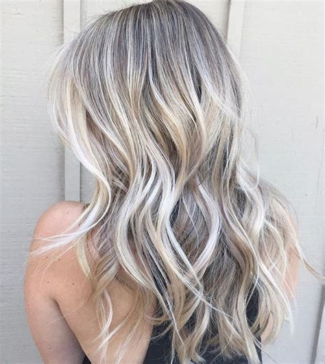 ash blond with grey highlights ash blonde pinterest amandamajor com delray indianapolis