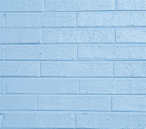 baby blue painted brick wall background image wallpaper