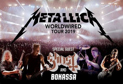 metallica june 2019 concert bus tickets to metallica slane 2019