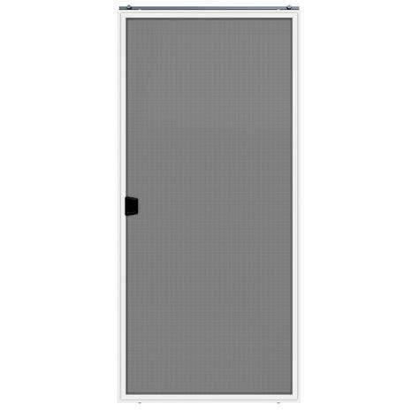 shop jeld wen builders white aluminum sliding screen door common      actual