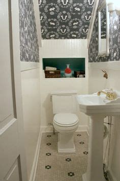 our powder room makeover from damask to emily look closet turned into small bathroom tiny powder rooms half baths and powder room
