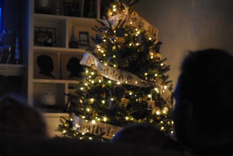 christmas decorations led tree from love actully actually themed tree lemonade