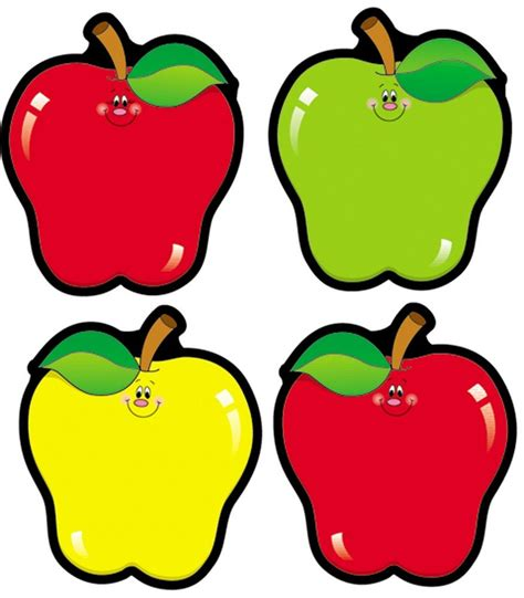 printable apple name tags apple cut outs from carson dellosa are great for matching