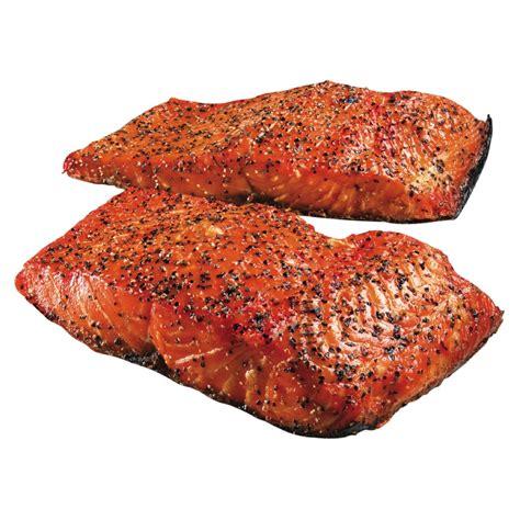 frozen hot smoked salmon hot smoked pepper atlantic salmon