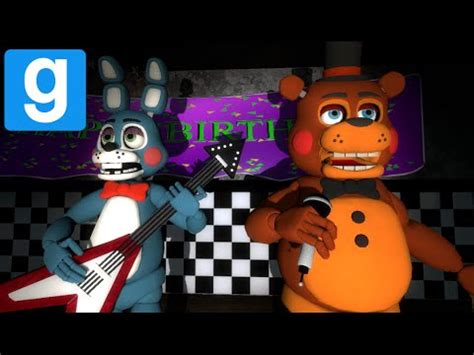 free five nights at freddy s garry s mod game five nights at freddy s 2 here we go again gmod