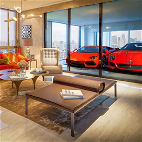 Apartment With Sky Garage Hamilton Scotts The Ultimate Car Lover S Apartment