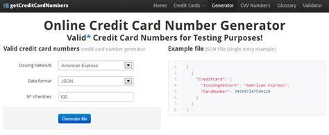 numeros de tarjetas de credito 2016 genera un n 250 mero de tarjeta de cr 233 dito v 225 lido para usar