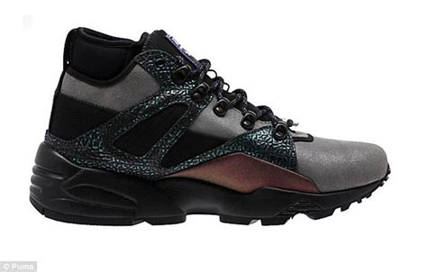 Original Blaze Future Tribes Sneakers Purple Gray femail showcases surprising designs on the sneakers market daily mail
