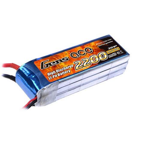 Batery Lipo gens ace 2200mah 11 1v 25c 3s1p lipo battery pack gensace de gens ace