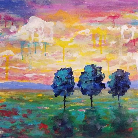 acrylic painting tutorial landscapes 17 best images about on watercolors