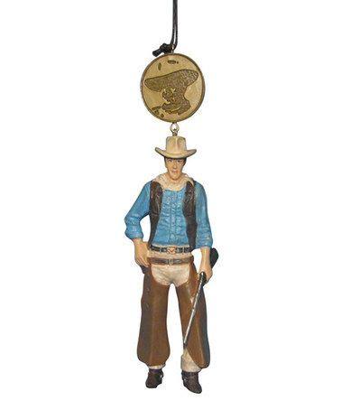 john wayne john wayne medallion ornament ornaments