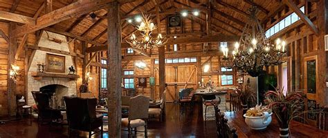 Barn Home Interiors by Refinished Barn Reclaimed Barn Wood