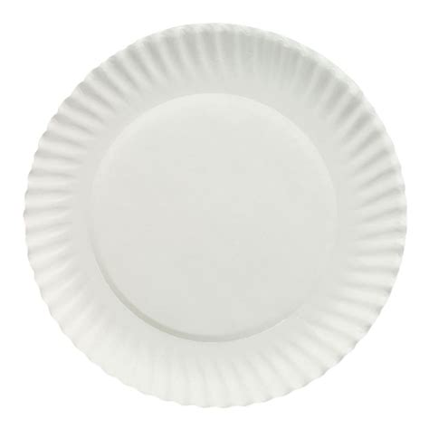What To Make With Paper Plates - 1000 white paper plates 6 inches diameter ebay