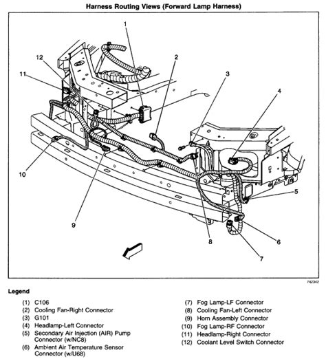 chevy impala 2003 engine fans wiring diagram get free