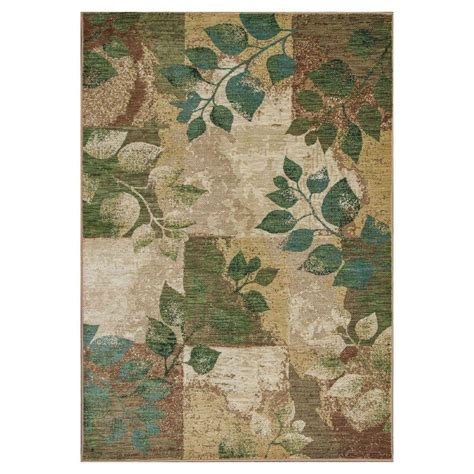 10 X 10 Area Rugs Kas Rugs Plantscape Multi Green 7 Ft 10 In X 10 Ft 10 In Area Rug Zen5050710x112 The Home
