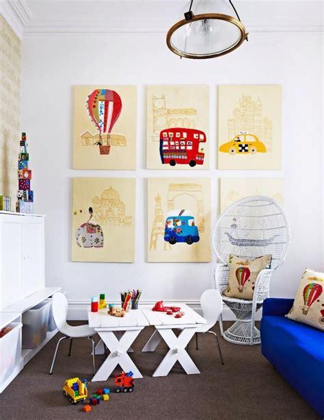 Elegant Home Decor Ideas salle jeux enfants 5 cadres inspiration atypique deco