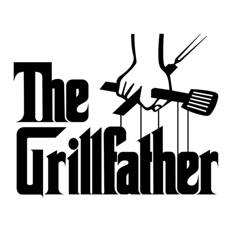 vector graphics design cdr files grillfather bbq fathers graphics design svg by