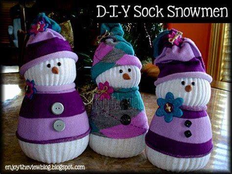 adorable sock snowman the diy adorable sock snowmen the diy