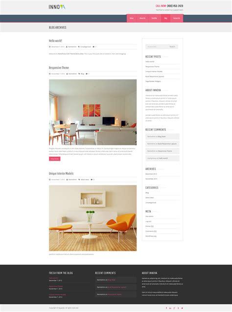 themes wordpress cms innova interior funiture wordpress cms theme by