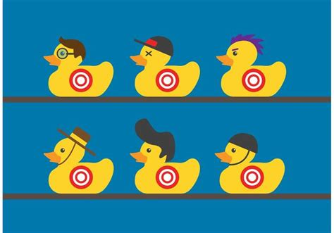 free printable duck targets rubber duck target vectors download free vector art