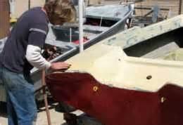 wet sanding boat bottom paint boat renovation starboard marine