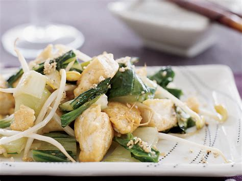 Cooking Chicken With Harumi Kurihara by Stir Fried Tofu With Bok Choy Recipe Harumi Kurihara