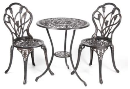 Kirkland Bistro Table Set Bloom Bistro Set Traditional Outdoor Pub And Bistro Sets By Kirkland S