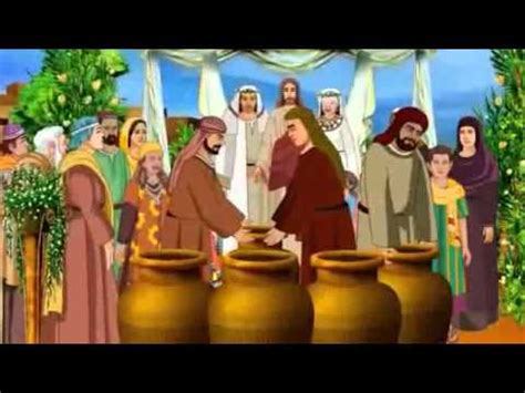 Wedding In Galilee Bible by Miracles Of Jesus Wedding At Cana