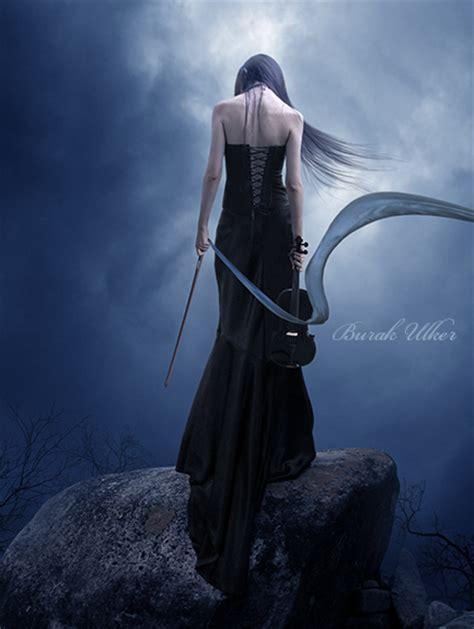 Dress Glow Violin serenade of sorrow by burakulker on deviantart