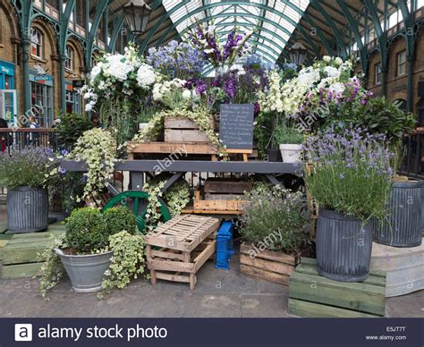 Flowers Covent Garden An Eliza Doolittle Inspired Flower Stall At Covent Garden Market Stock Photo Royalty Free Image