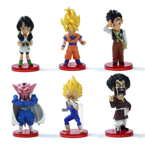 Figure Set 6 Pcs Majinboo limited edition 6pcs z figures anime