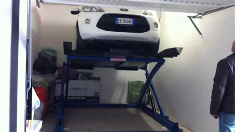 sollevatori auto per box sollevatore auto ragno sollevamento a forbice con piano