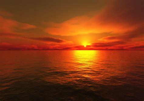 sunset orange sunset orange river sea colour orange size 20 quot x 60