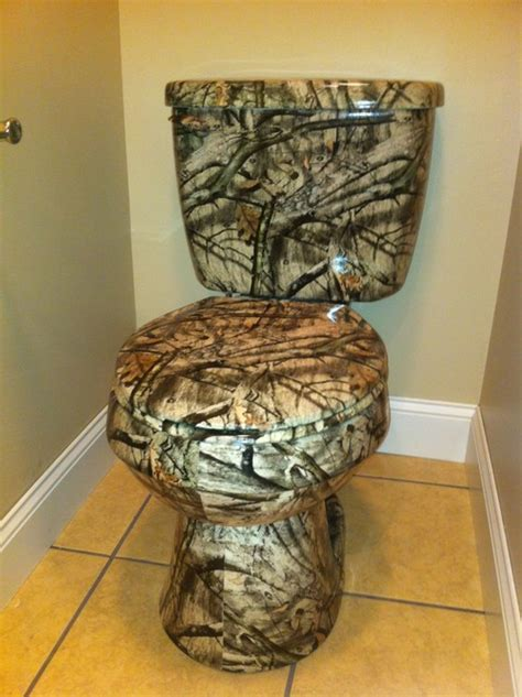camouflage bathroom ideas custom toilet