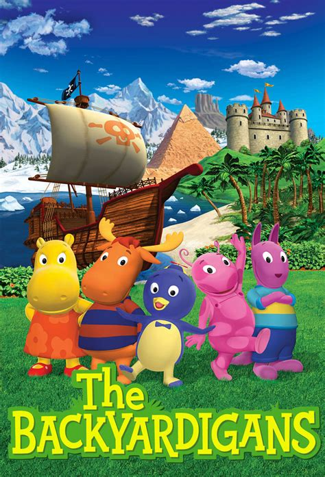 Backyardigans Original Cast The Backyardigans