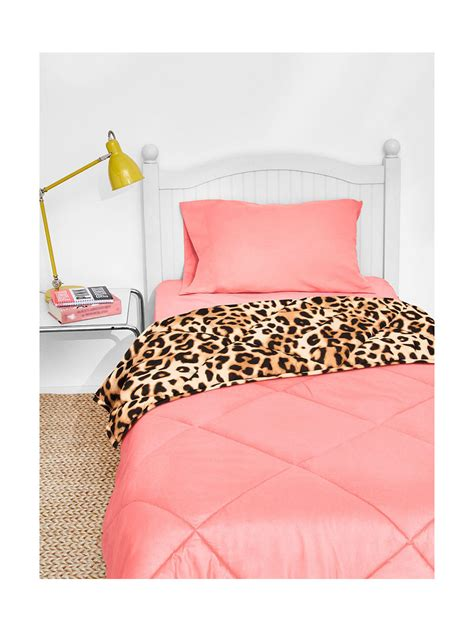 victoria secret bed set queen victoria s secret pink bed in a bag queen reversible comforter sheet 5 piece set ebay