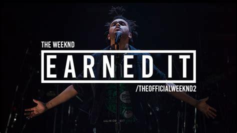 printable lyrics to earned it the weeknd earned it lyrics chords chordify